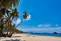 Nacapan El Nido in Palawan Philippines