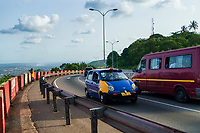 Aburi Toll Road to Accra
