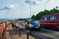 Aburi Toll Road to Accra