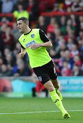 Oldham Athletic's James Wilson  - Photo mandatory by-line: Joe Meredith/JMP - Mobile: 07966 386802 - 01/11/2014 - SPORT - Football - Bristol - Ashton Gate - Bristol City v Oldham Athletic - Sky Bet League One