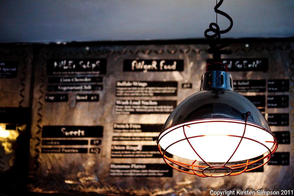Brainwash cafe in SOMA San Fransico
