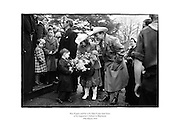 Roy Rogers and his wife Dale Evans meet boys of St Augustine's School in Blackrock.<br />