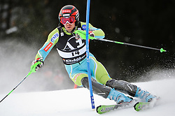 24.01.2010, Hahnenkamm, Kitzb¸hel, AUT, FIS Worldcup Alpin Ski, 70. Hahnenkammrennen Slalom, im Bild VALENCIC Mitja, SLO, Elan, EXPA Pictures © 2010, Photographer EXPA/ S. Zangrando/ SPORTIDA PHOTO AGENCY