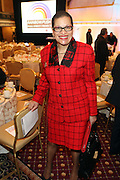 New York, NY-January 31: Dr. Juliane Malveaux attends ' the Access to Capital ' Luncheon held during the 16th Annual Wall Street Project Economic Summit held at the Roosevelt Hotel on January 31, 2013 in New York City. The Rainbow PUSH Coalition is a progressive organization protecting, defending and expanding civil rights to improve economics and educational opportunity.  (Terrence Jennings)