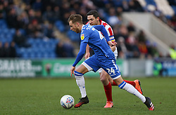 Ben Stevenson of Colchester United runs with the ball - Mandatory by-line: Arron Gent/JMP - 29/02/2020 - FOOTBALL - JobServe Community Stadium - Colchester, England - Colchester United v Cheltenham Town - Sky Bet League Two
