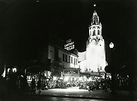 1929 Premiere at the Carthay Circle Theater