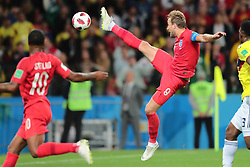 July 3, 2018 - Moscow, Russia - forward Harry Kane of England National team  during the round of 16 match between Colombia  and England at the FIFA World Cup 2018 at Spartak Stadium  in Moscow, Russia, Tuesday, July 3, 2018. (Credit Image: © Anatolij Medved/NurPhoto via ZUMA Press)