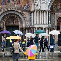"VENICE - ITALY November 1st 2010 . Venice experiences today ""aqua alta"", or high water, bringing water onto Venice's streets ....***Agreed Fee's Apply To All Image Use***.Marco Secchi /Xianpix. tel +44 (0) 771 7298571. e-mail ms@msecchi.com .www.marcosecchi.com"