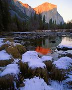 Yosemite Valley in winter