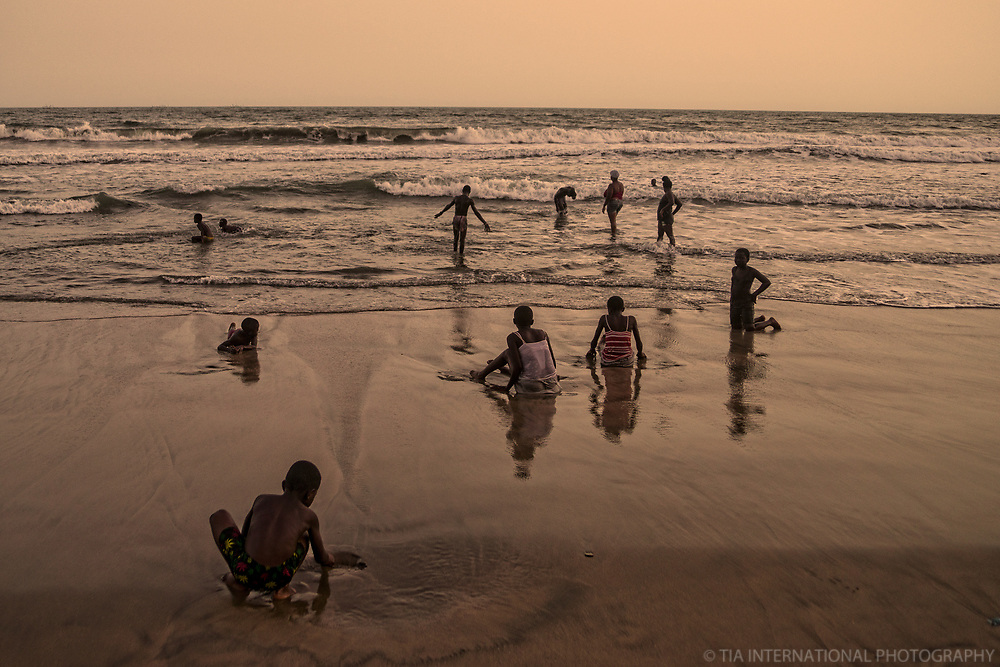 Beach Frolicking, Kokrobite