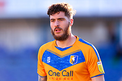 Ryan Sweeney of Mansfield Town - Mandatory by-line: Ryan Crockett/JMP - 27/02/2021 - FOOTBALL - One Call Stadium - Mansfield, England - Mansfield Town v Morecambe - Sky Bet League Two