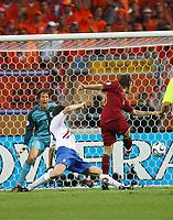 1:0 Tor Maniche Portugal<br /> Fussball WM 2006 Achtelfinale Portugal - Niederlande<br />  Portugal - Nederland<br /> Norway only