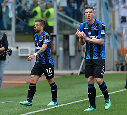 May 6, 2018 - Rome, Lazio, Italy - Robin Gosens during the Italian Serie A football match between S.S. Lazio and Atalanta at the Olympic Stadium in Rome, on may 06, 2018. (Credit Image: © Silvia Lore/NurPhoto via ZUMA Press)