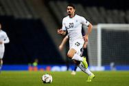 Omri Ben Harush (20) (Lokeren)of Israel during the UEFA Nations League match between Scotland and Israel at Hampden Park, Glasgow, United Kingdom on 20 November 2018.