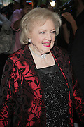 4 May 2010- New York, New York- Betty White at Time 100 Gala celebrating the 100 Most Influential People in the World held at The Time Warner Center on  May 4, 2010 in New York City.