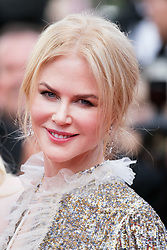 CANNES, FRANCE - MAY 21: Australian actress Nicole Kidman leaves after screening of the film â&