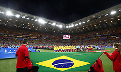 June 17, 2018 - Rostov Do Don, Rússia - ROSTOV DO DON, RO - 17.06.2018: BRAZIL VS SWITZERLAND - Brazil team during the match between Brazil and Switzerland valid for the 2018 World Cup held at the Rostov Arena in Rostov-on-Don, Russia. (Credit Image: © Rodolfo Buhrer/Fotoarena via ZUMA Press)