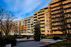Modern housing in the Boulevard de Strasbourg, Toulouse, FRance<br /> <br /> (c) Andrew Wilson | Edinburgh Elite media