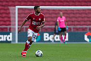 Bristol City's Nahki Wells (21) during the EFL Cup match between Bristol City and Exeter City at Ashton Gate, Bristol, England on 5 September 2020.
