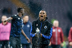 November 26, 2019, Galatasaray, Turkey: Club's Lois Openda celebrates after a game between Turkish club Galatasaray and Belgian soccer team Club Brugge, Tuesday 26 November 2019 in Istanbul, Turkey, fifth match in Group A of the UEFA Champions League. (Credit Image: © Bruno Fahy/Belga via ZUMA Press)