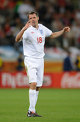 18.01.2010, Green Point Stadium, Cape Town, RSA, FIFA WM 2010, England (ENG) vs Algeria (ALG), im Bild A dejected Jamie Carragher of England. EXPA Pictures © 2010, PhotoCredit: EXPA/ IPS/ Marc Atkins / SPORTIDA PHOTO AGENCY