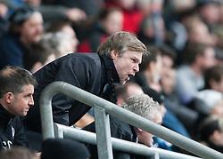 Steven Pressley, Falkirk manager...Falkirk 1 v 1 Partick Thistle, 10/3/2012..©Michael Schofield.