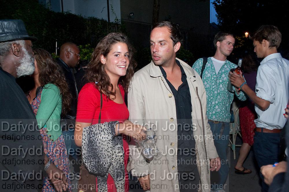 DAISY FRASER; JOHN LYCETT-GREEN, Launch of the Portobello film festival. Tabernacle. Powis Sq. London. 20 August 2009.