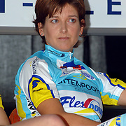 NLD/Oosterbeek/20060321 - Presentatie nieuwe dames wielerploeg Buitenpoort - Flexpoint Team, Sandra Rombouts