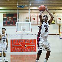 Lowell v Half Moon Bay Boys Basketball 121010