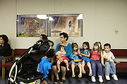 Jean's family, attending evangelist church, living in Austin. English Romanichel Roma living in Texas, USA