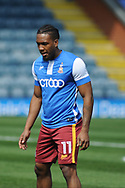 Bradford City forward Dominic Poleon (11)   during the EFL Sky Bet League 1 match between Rochdale and Bradford City at Spotland, Rochdale, England on 21 April 2018. Picture by Mark Pollitt.