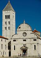 The 11th century church of St Mary (Sv Marija), with bell tower and 16th century Baroque facade, Zadar, Croatia © Rudolf Abraham