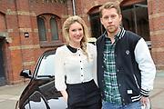 Perspresentatie Lauren en Tim zijn de BOB! op het westergasterrein, Amsterdam.<br /> <br /> Op de foto:  Lauren Verster en Tim Haars
