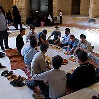 Friday picnic near Yazd.