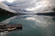 Lovatnet - Early morning mist<br /> <br /> El lago entre la bruma de la madrugada