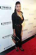 28 April 2011- New York,  NY-  Melanie Fiona at The Tribeca Film Institute's 8th Annual Tribeca All Access (TAA) Legacy Celebration honoring Quincy Jones and held at Hiro Ballroom on April 28, 2011 in New York City. Photo Credit: Terrence Jennings
