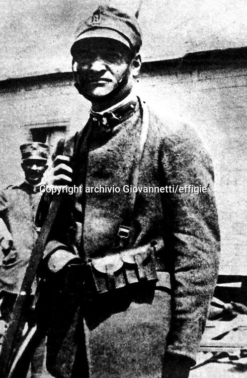 Giuseppe Ungaretti<br />archivio Giovannetti/effigie