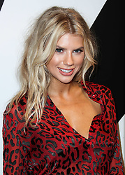 MANHATTAN, NEW YORK CITY, NY, USA - SEPTEMBER 11: alice + olivia SS19 Presentation Powered By Booking.com held at Pier 59 Studios on September 11, 2018 in Manhattan, New York City, New York, United States. 11 Sep 2018 Pictured: Charlotte McKinney. Photo credit: Image Press Agency/MEGA TheMegaAgency.com +1 888 505 6342