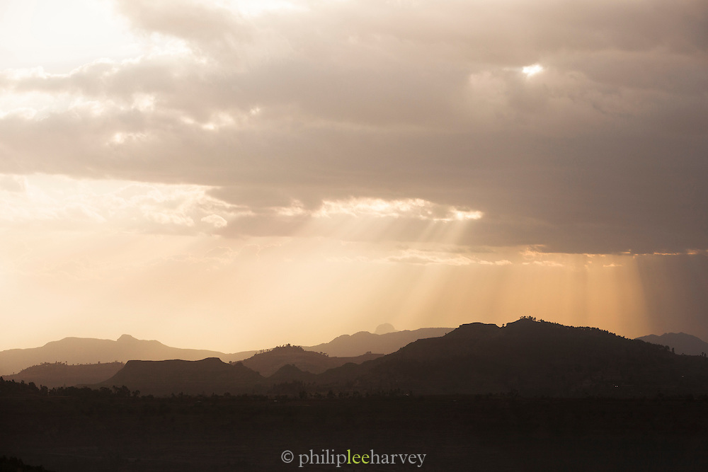 The Gheralta Mountains, Tigray Region. Ethiopia, Horn of Africa