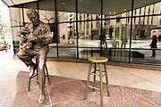 Chet Atkins statue in Nashville, TN.