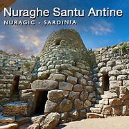 Santu Antine Nuraghe Nuragic Site Sardinia - Pictures & Images -