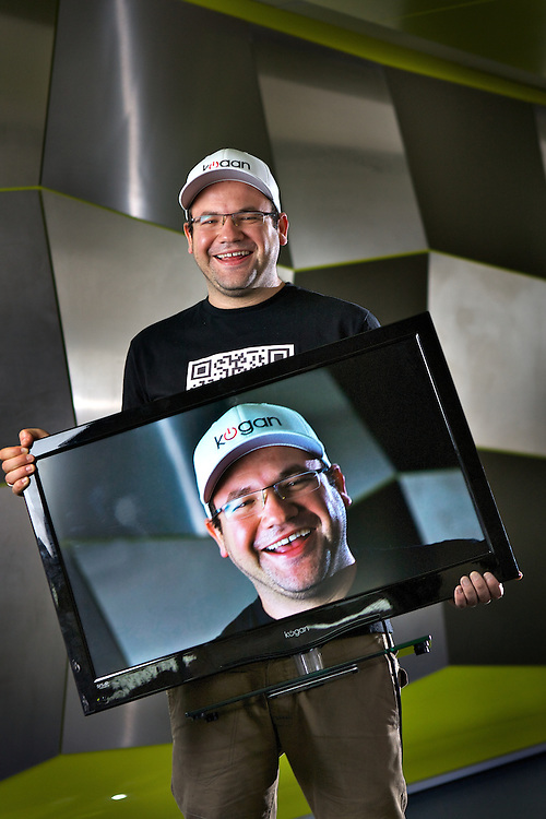 Ruslan Kogan sells TVs on the internet, he's the richest Australian under 30. Pic By Craig Sillitoe CSZ/The Sunday Age.8/3/2012 melbourne photographers, commercial photographers, industrial photographers, corporate photographer, architectural photographers, This photograph can be used for non commercial uses with attribution. Credit: Craig Sillitoe Photography / http://www.csillitoe.com<br /> <br /> It is protected under the Creative Commons Attribution-NonCommercial-ShareAlike 4.0 International License. To view a copy of this license, visit http://creativecommons.org/licenses/by-nc-sa/4.0/.
