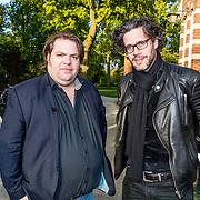 NLD/Amsterdam//20170509 - Boeklancering Dafne Schippers - Dafne Likes, Erik Dijkstra en Frank Evenblij