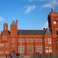 Europe, United Kingdom, Wales, Cardiff. The Pierhead Building.