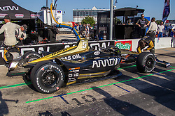June 9, 2018 - Fort Worth, Texas, U.S - Indy Car teams getting ready before the DXC Technology 600 race at Texas Motor Speedway in Fort Worth,Texas. (Credit Image: © Dan Wozniak via ZUMA Wire)