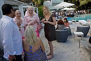 JOEL COHEN; ARTISTS ADELLE & EVA; Collectors COLLECTOR; Brunch, Sagamore Hotel Miami Beach. Art Basel Miami Beach. 6 December 2008 *** Local Caption *** -DO NOT ARCHIVE -Copyright Photograph by Dafydd Jones. 248 Clapham Rd. London SW9 0PZ. Tel 0207 820 0771. www.dafjones.com