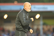Keith Hill during the EFL Sky Bet League 1 match between Rochdale and Barnsley at Spotland, Rochdale, England on 21 August 2018.