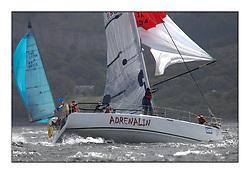 Brewin Dolphin Scottish Series 2011, Tarbert Loch Fyne - Yachting - Day 2 of the 4 day series. Windy!.IRL1348, Adrenalin, Joe McDonald, National YC, A 35..