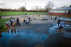 One of the last remaining 70s skateparks, Harrow skateboard park, Byron Park, West London