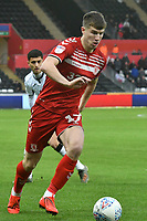 Football - 2019 / 2020 Sky Bet (EFL) Championship - Swansea City vs. Middlesbrough<br /> <br /> Paddy McNair of Middlesbroughon the attack at The Liberty Stadium.<br /> <br /> COLORSPORT/WINSTON BYNORTH